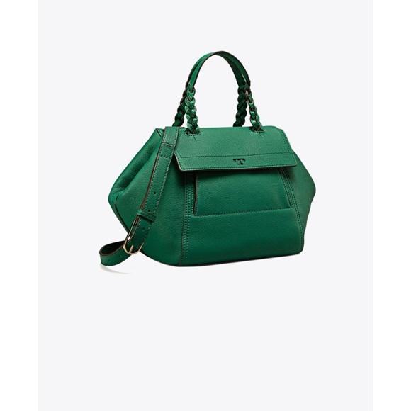 de873b8d130e Nwt Tory Burch half moon small satchel Leather bag